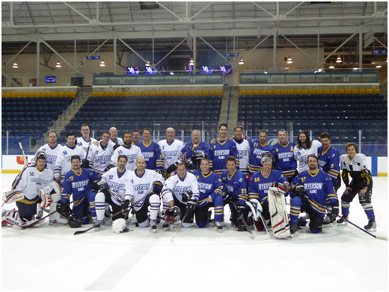 2015-16 alumni hockey game