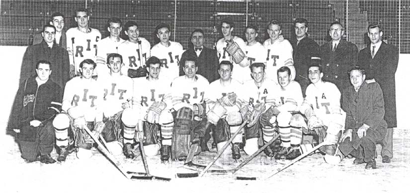1953-54 ryerson rams hockey team