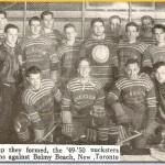 Ryerson's First Ever Hockey Team - 1949-50