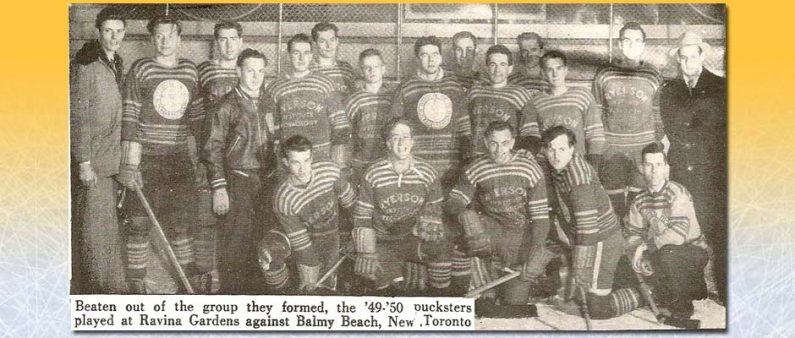 Ryerson's First Ever Hockey Team - 1949-50