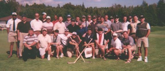 ryerson rams hockey alumni golf tournament 2000