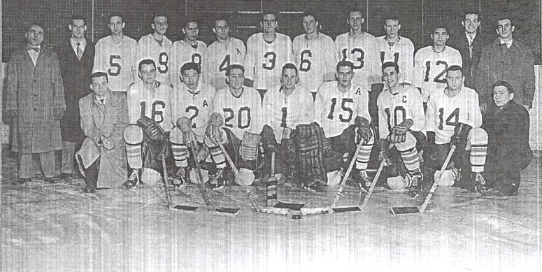 1955-56 ryerson rams hockey team